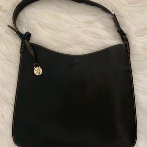 Dooney & Burke leather shldr purse.